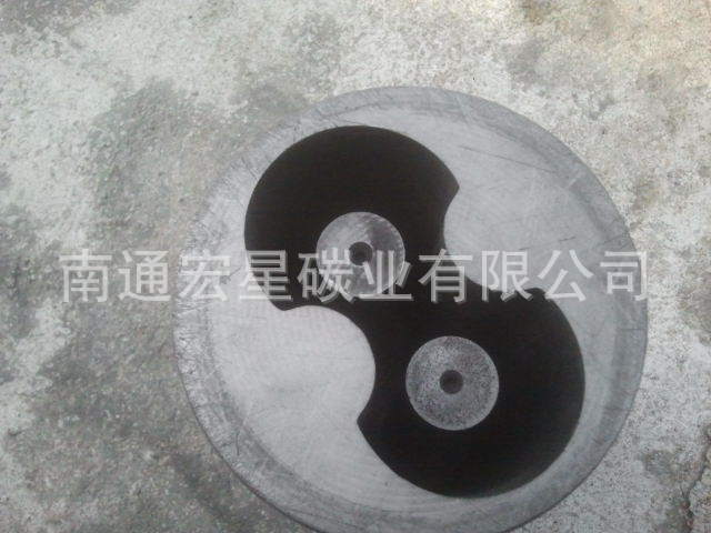 Hole thermal conductive graphite products